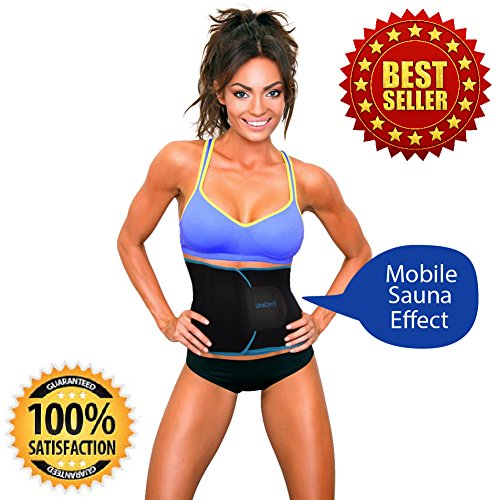 0a840a83d27 UltraComfy Waist Trimmer Trainer Belt for Men and Women  Trimming ...
